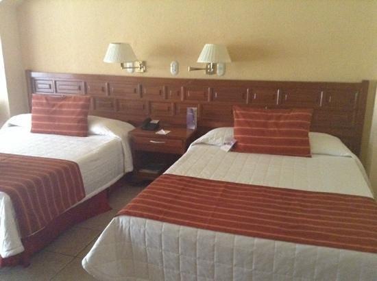 Mision Comanjilla: habitación