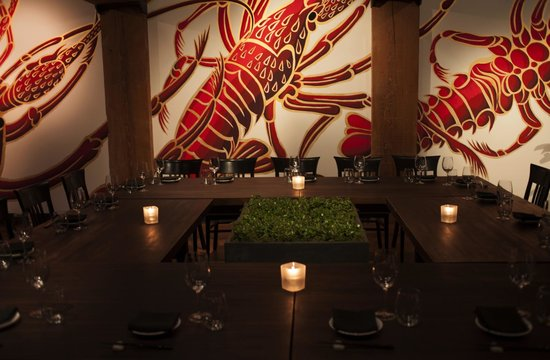 Blue ocean private dining room picture of minami for Best private dining rooms vancouver