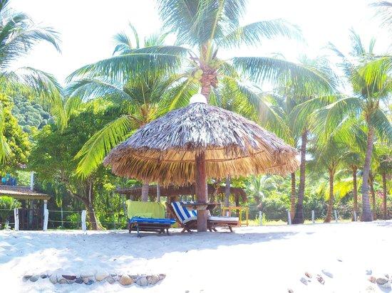 Los Raqueros : Palapa on Beach