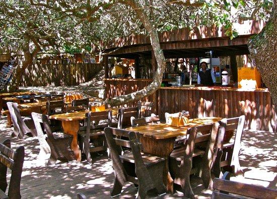 Knysna, Sydafrika: Restaurant area and bar