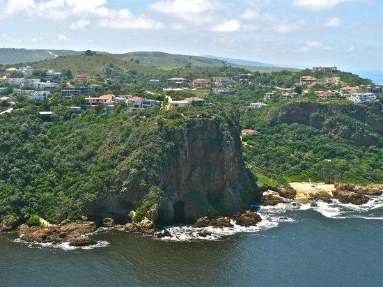 Knysna, Sydafrika: The dangerous passage for boats