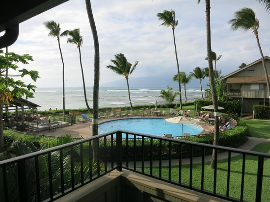 Kahana Village: view from unit 10