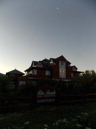 Rio Tarde Casa Patagonica: Vista nocturna