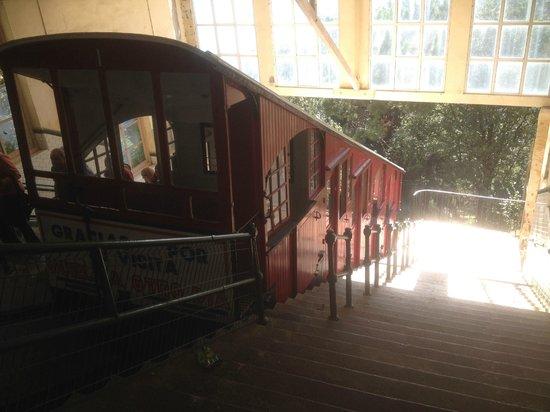 Hotel Leku-Eder: Funicular