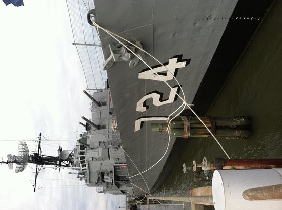 Patriots Point Naval & Maritime Museum: Gun ship