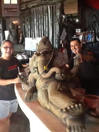 Om Tulum Hotel Cabanas and Beach Club: Melvin traicionado por el Tigre toño (La verdadera historia)