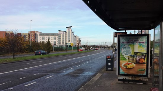 Hilton Dublin Airport Hotel : Bus 42-42 to downtown
