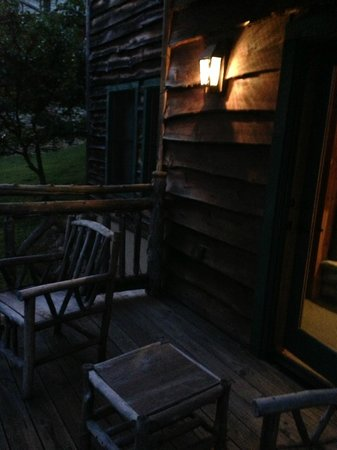 The Lodge at Buckberry Creek : Evening on the balcony