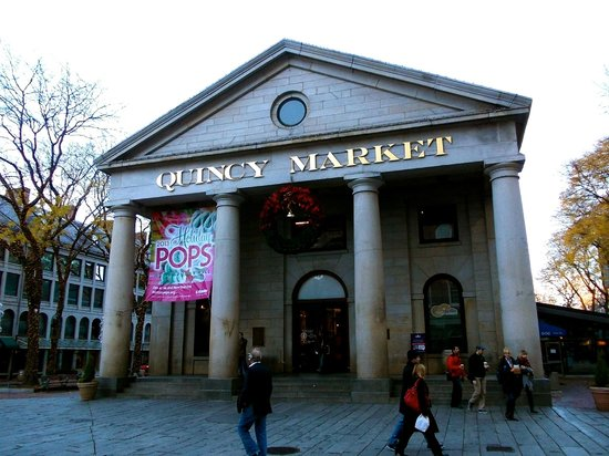 Ned Devines Faneuil Hall : Ned Divines is at the other end of this Market.