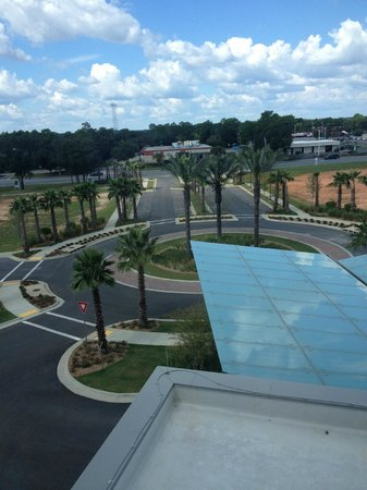 Hyatt Place Pensacola Airport : the view from our room. (fourth floor)