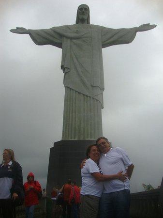 Hotel Sesc Copacabana: Visita ao Cristo Redentor