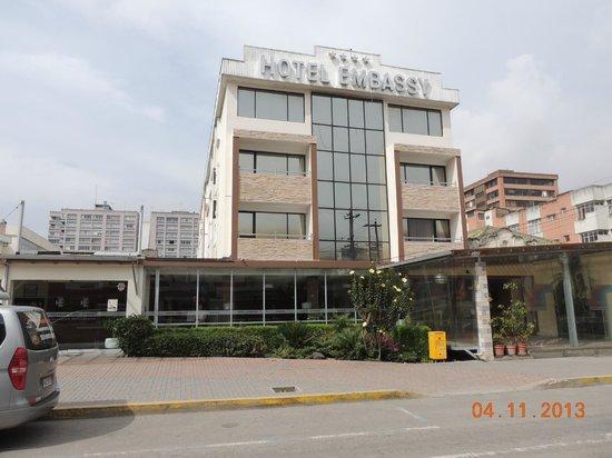 Embassy Hotel: frente del hotel