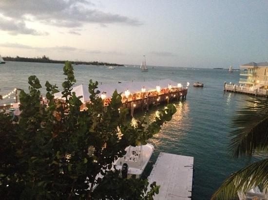 Ocean Key Resort & Spa : balcony view. tree made it very private