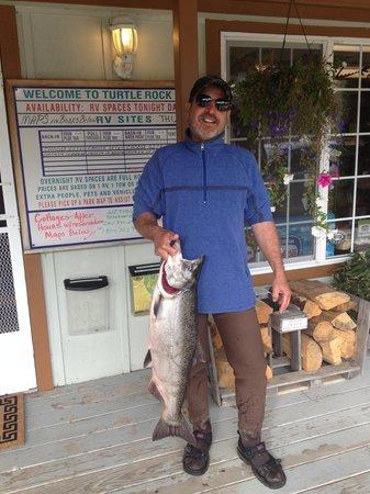 Turtle Rock Resort: My Hunter Creek Salmon