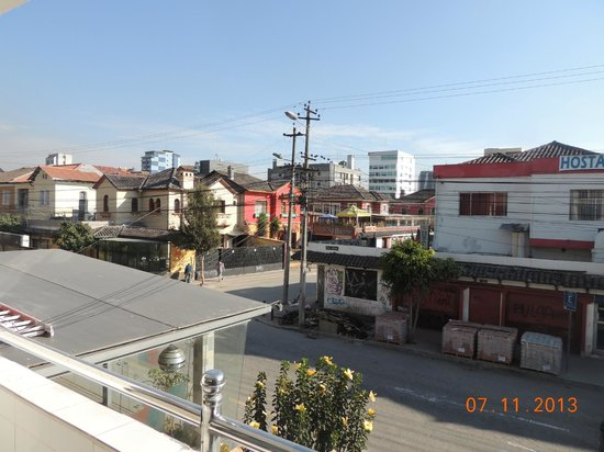 Embassy Hotel: vista desde la habitación