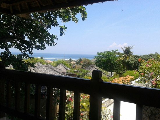 "Sekar Nusa Villas: View from the cafe called ""La Terrace"""