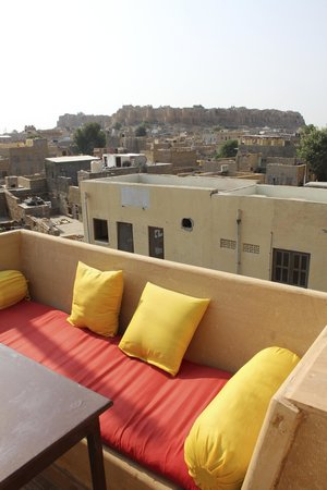 Hotel Pleasant Haveli: Pleasant Rooftop