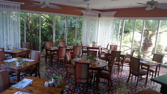 Royal Palms Hotel : Eating area for breakfast