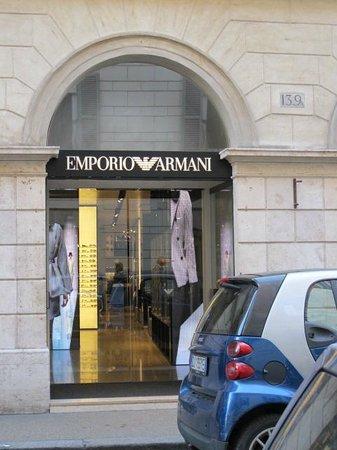 Via del Babuino e dintorni: Via del Babuino - great shopping
