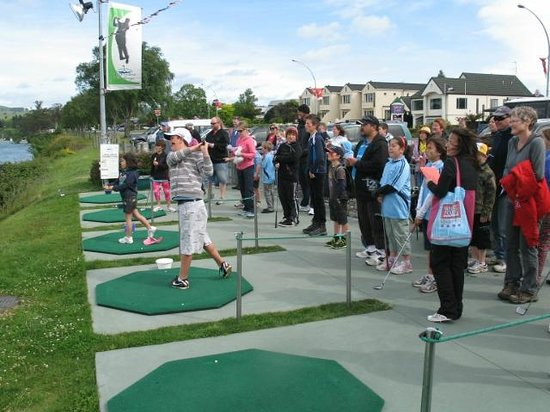 Lake Taupo Hole in One Challenge: Taupo Junior Golf