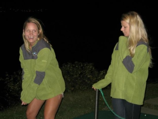 Lake Taupo Hole in One Challenge: oh yeah we go all night