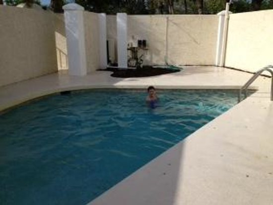 The Sea Spray Resort: My son loved having his own private pool!