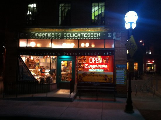 Zingerman's Delicatessen : An Ann Arbor landmark!