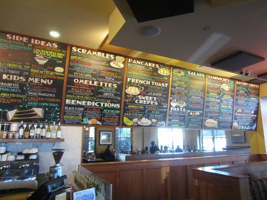Crepevine: Lots of choices!