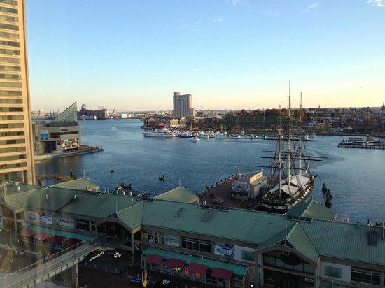Renaissance Baltimore Harborplace Hotel: beautiful view