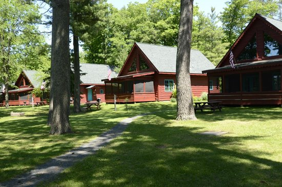 Lakefront Cabin Rentals Picture Of Grand Pines Resort