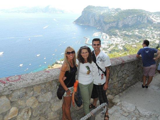 Tours of Capri : Our guide Michella