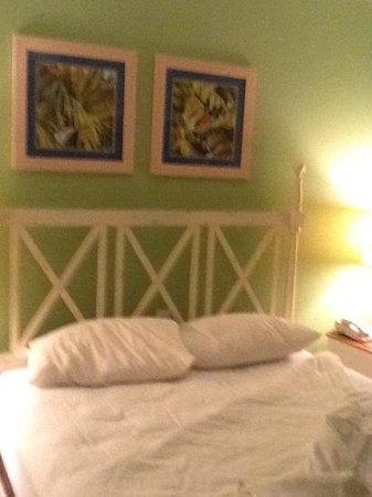 The Barefoot Suites: uma das suites.