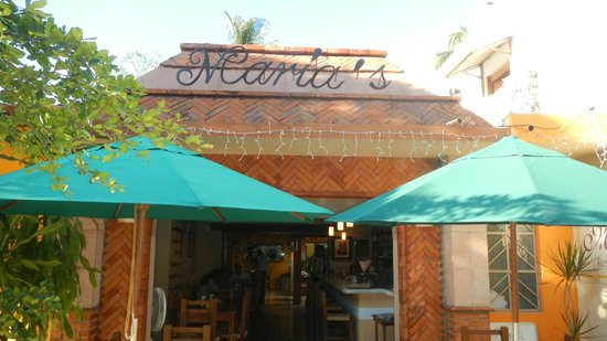 Maria's: front entrance