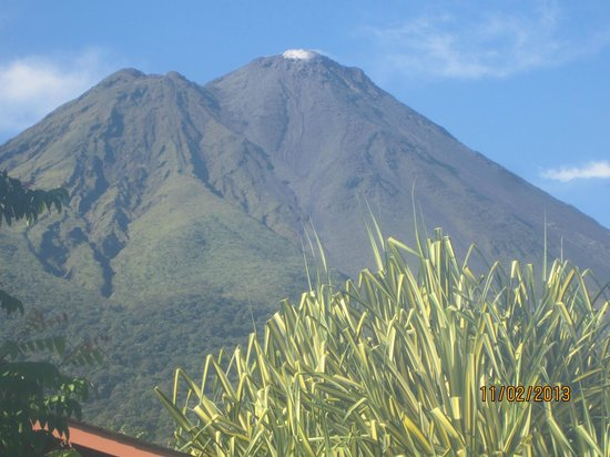 Hotel El Silencio del Campo: OK, not quite the view from the room but about 10 steps away.