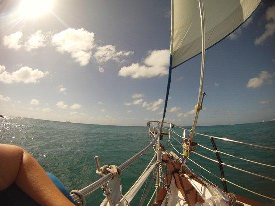 Sailing on Random Wind