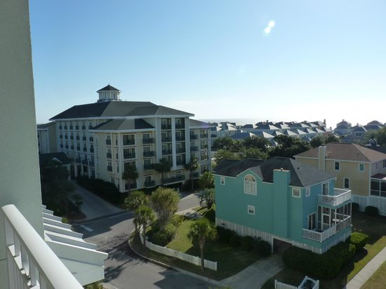 Wild Dunes Resort : Village view of The Boardwalk Inn