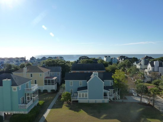 Wild Dunes Resort : Same view as 'zoomed in' picture of ocean