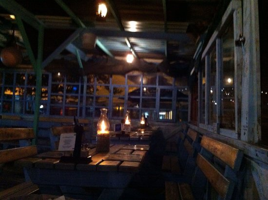 Sea Gypsy Cafe : Quixotic and romantic. And what a view!