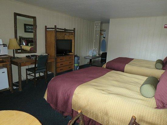 Antler Inn: average bedroom