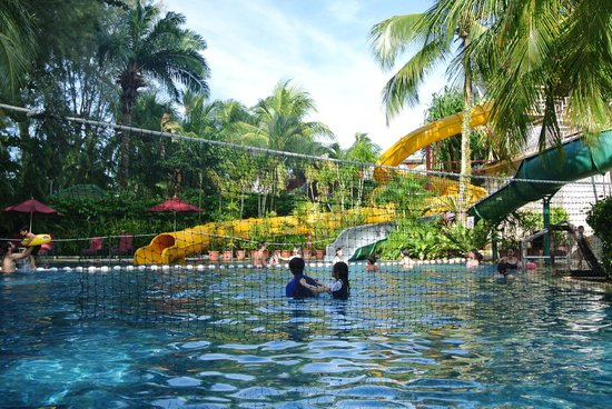 PARKROYAL Penang Resort, Malaysia: slides near children pool