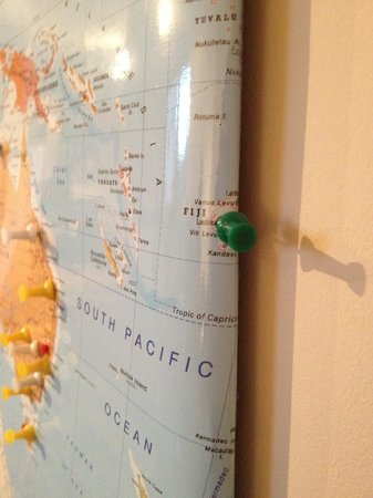 Kip in the Kirk: Tara made it on the map!