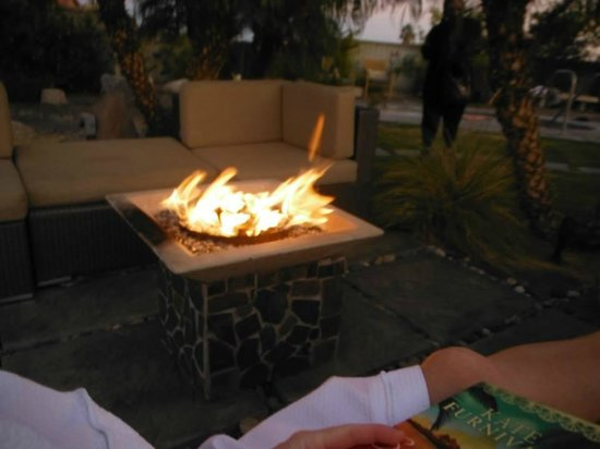 The Spring  Resort & Spa: fire pit, relaxing time