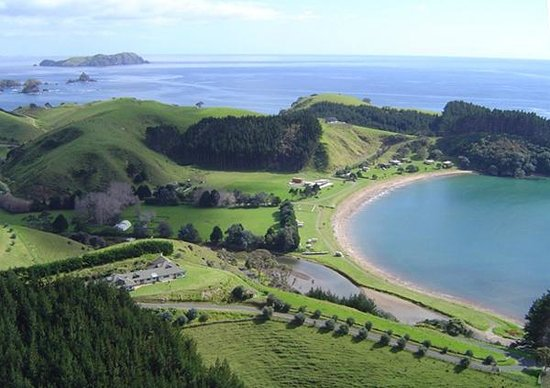 Waiwurrie Coastal Farm Lodge: aerial photo