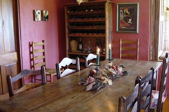 Waiwurrie Coastal Farm Lodge : dining room