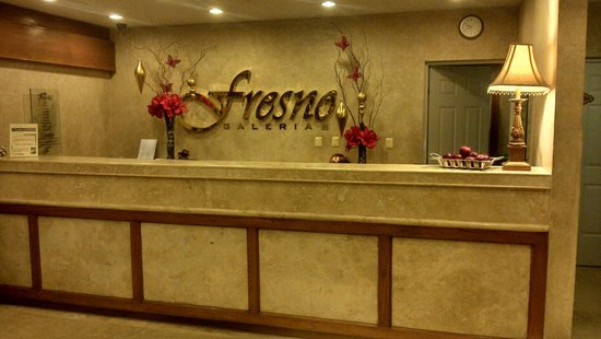 Hotel Fresno Galerias: Recepción navideña