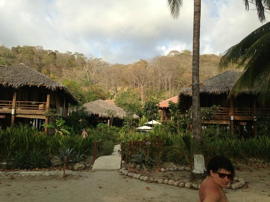 Pranamar Villas and Yoga Retreat: from the beach view