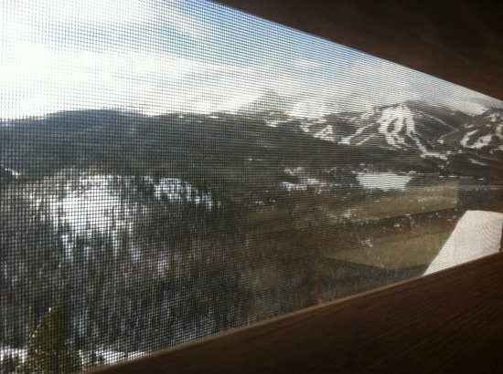 The Lodge at Breckenridge: View from second floor