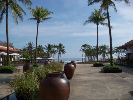 Furama Resort Danang: View from lobby
