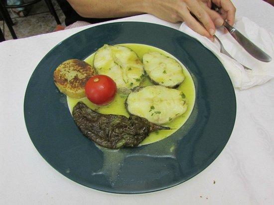 Xaica Restaurant: merluza in salsa verde