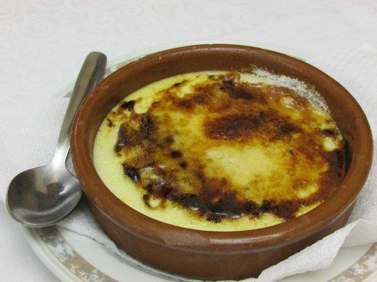 Xaica Restaurant: crema catalana